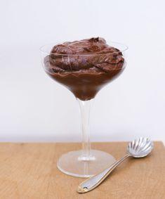 Vegan Chocolate Pudding made with Sweet Potatoes!