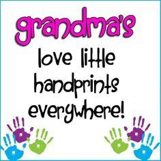 grandbabi, finger print, grandma sayings, grandkid, famili, grandma stuff, gramma stuff, grandchildren, grandpar quot