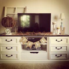old dressers, dresser media stand, tv stand