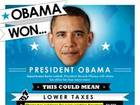 INFOGRAPHIC: President Obama Won, Now What? - via Cool Daily Infographics | Visual Knowledge