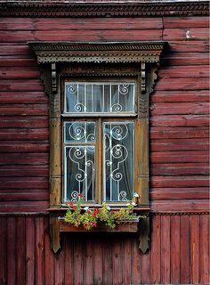window in Kiev, via Flickr.