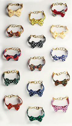 Vickers Bow Bracelets by classygirls for kieljamespatrick.com #Bracelets #Bow_Tie