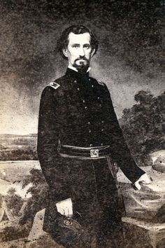 Felix Kirk Zollicoffer (May 19, 1812 – January 19, 1862) was a newspaperman, three-term U.S. Congressman from Tennessee, officer in the U.S. Army, & a Confederate brigadier general during the American Civil War. He led the first Confederate invasion of eastern Kentucky & was killed in action at the Battle of Mill Springs. Zollicoffer was the first Confederate general to die in the Western Theater. Zollicoffer was born on a plantation in Bigbyville in Maury County, Tennessee.