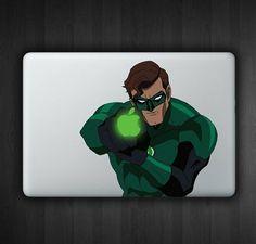 Green Lantern 13 Macbook Decal Macbook Sticker Air by SoldforLess.