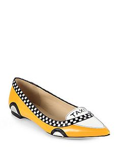 The best shoes of Fall 2013 - Kate Spade New York Go Taxi Leather Flats #katespade