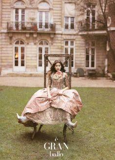 Laetitia Casta  Vogue Italy March 1994