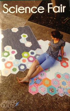 Very cool pattern using the Hex N More ruler!  $10.00