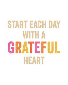 Grateful Heart Print by ShopCrystalFaye on Etsy, $12.00
