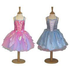 2 in 1 Summer Winter Fairy Verander de stijl van deze 2 in 1 verkleedjurk in een handomdraai om van een roze naar een blauw fee.