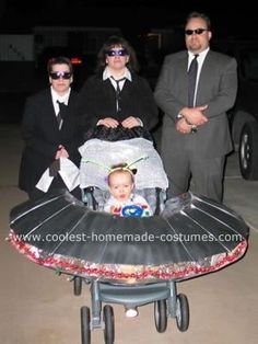 Men In Black Family Costume