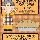 I Know An Old Lady Who Swallowed a Pie:  Activities for Thanksgiving