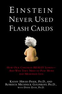 Recommended reading: Einstein Never Used Flash Cards--  It highlights and describes how learning should be done with play.  It proves through research that everyday experiences and play will stimulate different areas of learning.  At the end of each chapter there are tips and activities for carryover in any home.  It's a must read for any SLP, parent, or educator!