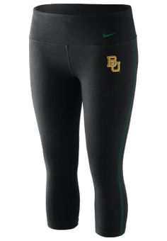 Nike #Baylor University Women's Dri-Fit Capris