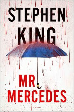 Mr. Mercedes by Stephen King.  Click the cover image to check out or request the suspense and thrillers kindle.