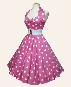 Rockabilly Dress and Shoes forWedding - Alternatively Lovely - Yesss..maybe with the pink or pink and white tulle slip under...