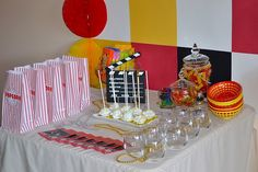 Movie Party Tablescape
