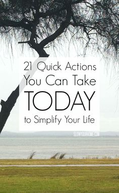 21 quick actions you