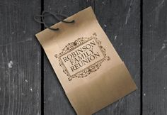 Custom logos for your reunion! Let us design your reunion a logo, and you can put it anywhere! #DIY #Crafts #goody #bags