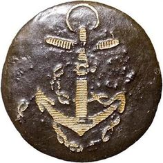 Revolutionary War Naval Button