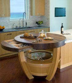 Kitchen Counter Extender (http://blog.hgtv.com/design/2013/06/24/daily-delight-kitchen-counter-extender/?soc=pinterest)