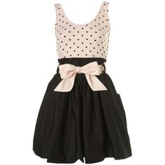 dream closets, polka dots, fashion, cloth, style, dresses, bows, anni greenabell, topshop