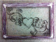 Jillian's Heart Rustic Art Window Hand by windowzofopportunity - love!