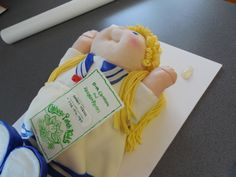 Cabbage Patch Doll Cake 3