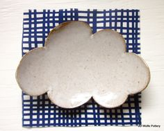 little cloud dish from jdwolfepottery on etsy