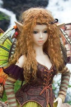 Topaz, a Forest Fairy - Martha Boers