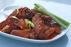 The best oven fried buffalo wings!