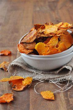 Baked Sweet Potato Chips :: Minimalist Baker