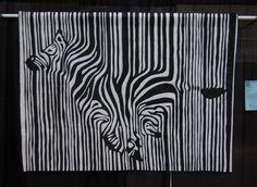 Lisa Goreski zebra quilt...just beautiful!!