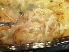 Krista's Kitchen: Cream of Chicken Bake (would be great over biscuits!)