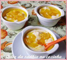 Artes da Sadhia na cozinha : Mousse de abacaxi Dica de receita facil para o natal /Postagem Coletiva de natal Blogs de culinaria