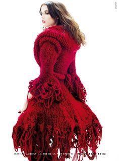 Red Beauty #fashion #style #dress #sweater #coat #beauty and the beast #princess #SocialMedia #Marketing #DDWInc #DynamicDesignworks   For social networking tips, tricks and news friend us on Facebook http://www.facebook.com/ddwinc