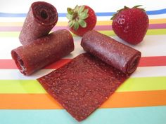 Homemade Strawberry Fruit Leather | Weelicious