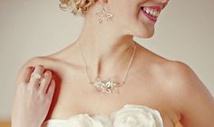 wear silver, silver flower, silver clean, flower necklac
