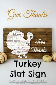 Our Give Thanks Turk