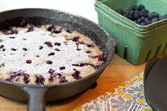 {Oven Baked} Blueberry Pancake