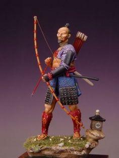 Arquero Samurai XV Cent.