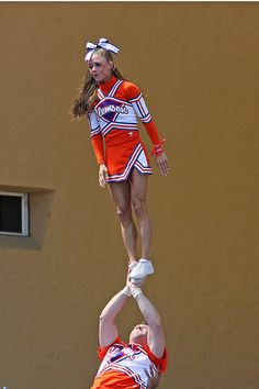 Clemson University Cheerleaders, cheerleading  cheer #KyFun m.13.47  moved from @Kythoni Cheerleading: Collegiate board http://www.pinterest.com/kythoni/cheerleading-collegiate/