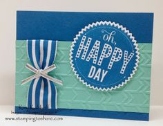 Stamping to Share: Starburst Sayings Card with a How To Video