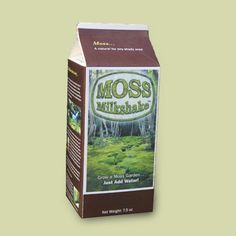 Plant a moss garden in a shady spot in the yard where grass just won't grow. Moss Milkshake, $20 for 10 square feet of coverage; mossacres.com