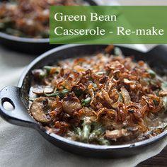 Green Bean Casserole Remake     Chez Us