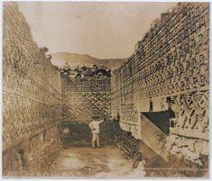 Mitla ruins' room of the mosaics, C.B. (Charles Burlingame) Waite, 1904