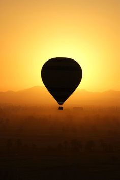 .    Balloon Over Valley of the Kings  by Brian Raggatt