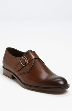 Monk strap shoes are IT.