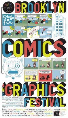 Brooklyn Comics + Graphics Festival
