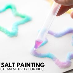 Salt Painting For Kids | Little Bins for Little Hands