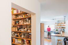dream pantry. A little crazy, a little organized.